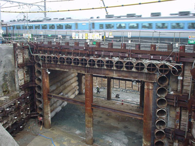 TH Pipe-roofing (under railways)